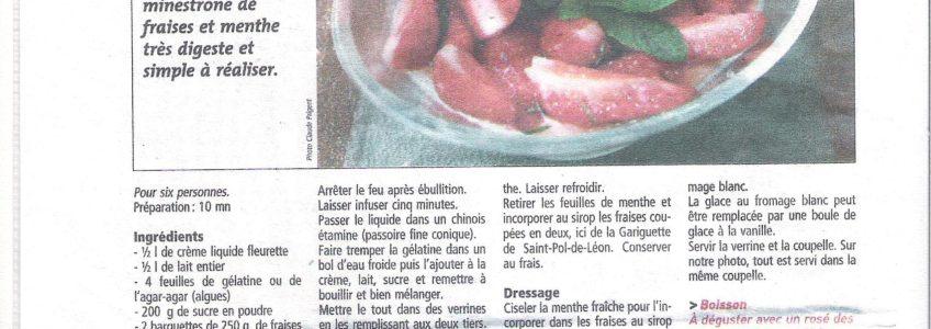 Le Telegramme 04-04-2008