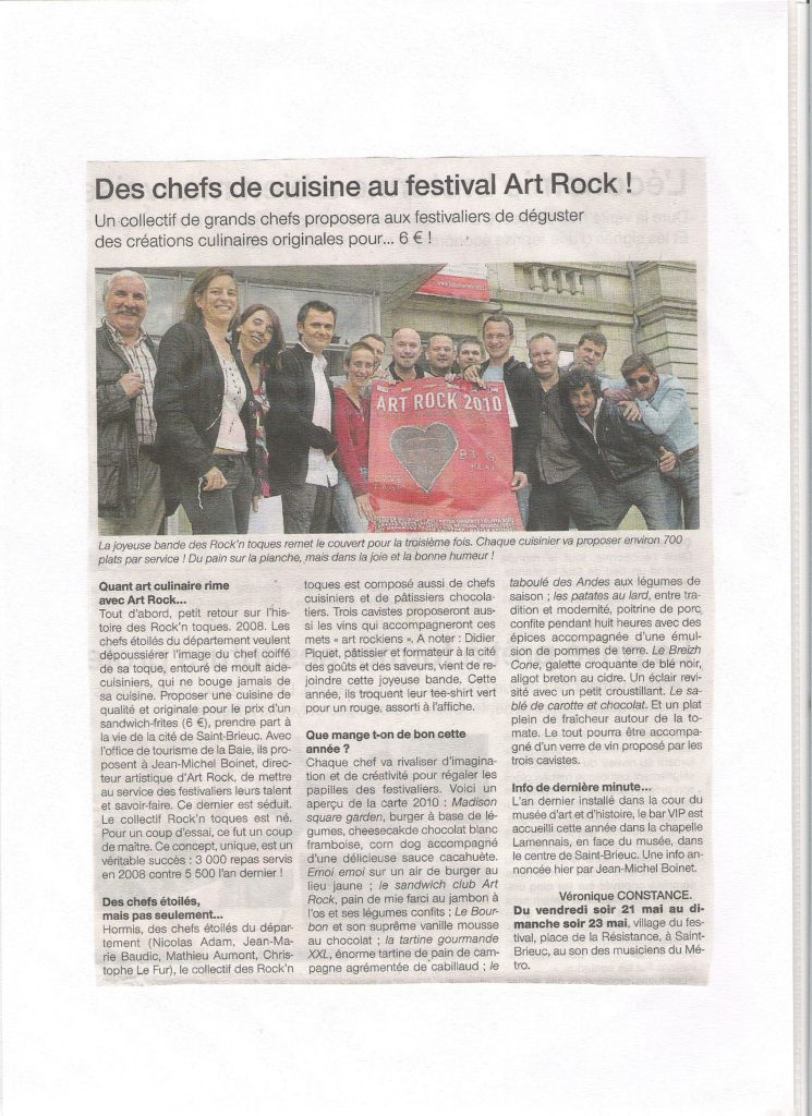 Ouest France 21-05-2010