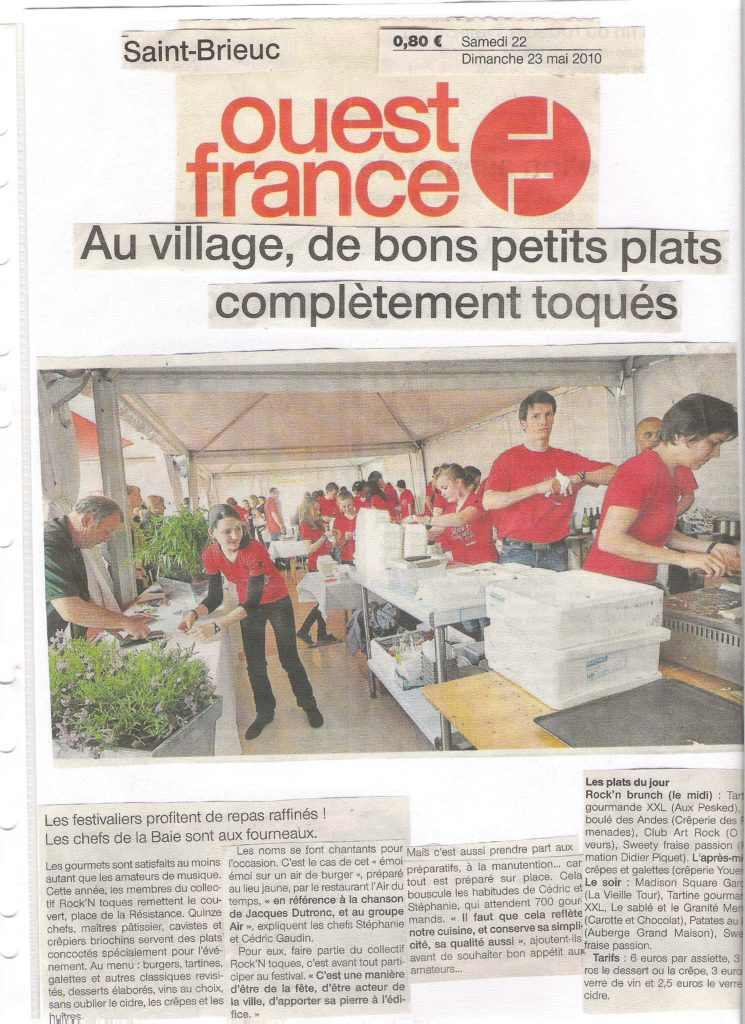 Ouest France 22-05-2010